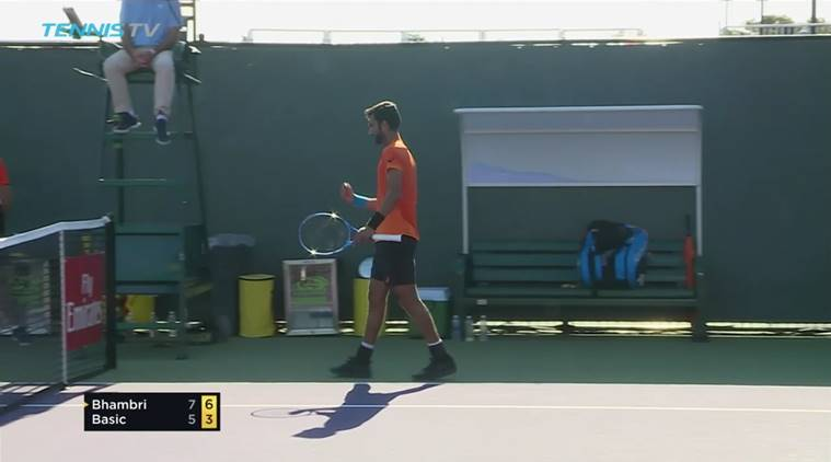 Yuki Bhambri at Miami Open