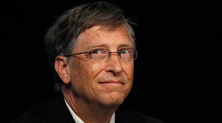 Bill Gates has unveiled a waterless toilet