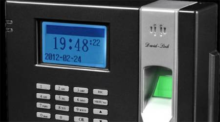 Mark attendance on biometric system or face action:DoE