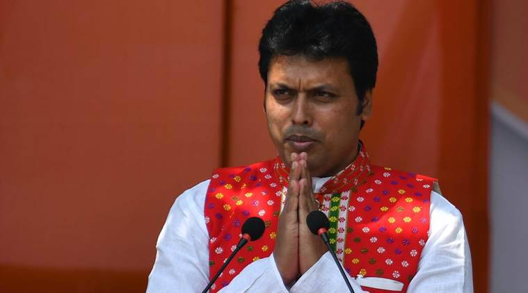 Tripura chief secy writes to Bengal counterpart over 'lack of security planning' for CM Biplab's visit
