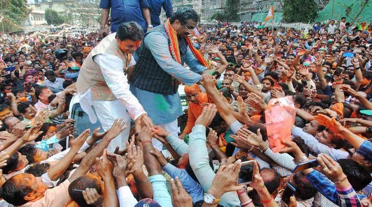 Tripura swearing in live updates, Tripura BJP government, Manik Sarkar, Biplab Deb, Ram Madhav, Tripura swearing in, Tripura oath taking ceremony, Indian Express