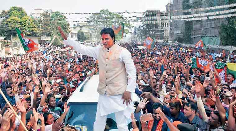 biplab deb, Assembly elections 2018, Tripura assembly polls, manik sarkar, Congress, tripura election result, cpm, bjp tripura, indian express news