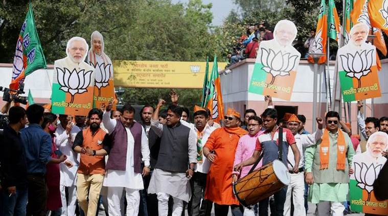 21 states are now BJP-ruled, home to 70 per cent of Indians
