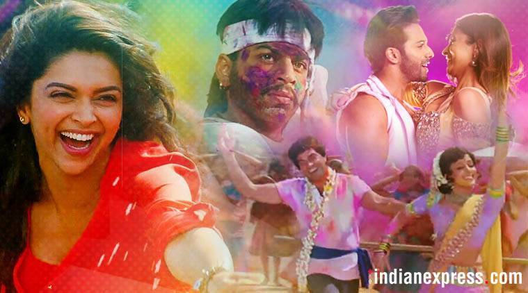 Bollywood films with Holi scenes