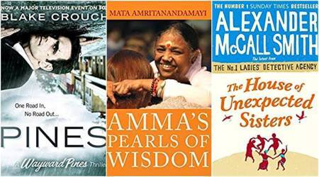 book reviews, Amma's Pearls Of Wisdom, Mata Amritanandamayi, Harper Collins, Pines, Blake Crouch, Thomas and Mercer, The House of Unexpected Sisters, Alexander McCall Smith, Little Brown, The Growth Delusion, David Pilling, Bloomsbury, indian express, indian express news