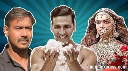 padman box office akshay kumar raid ajay devgn padmavati