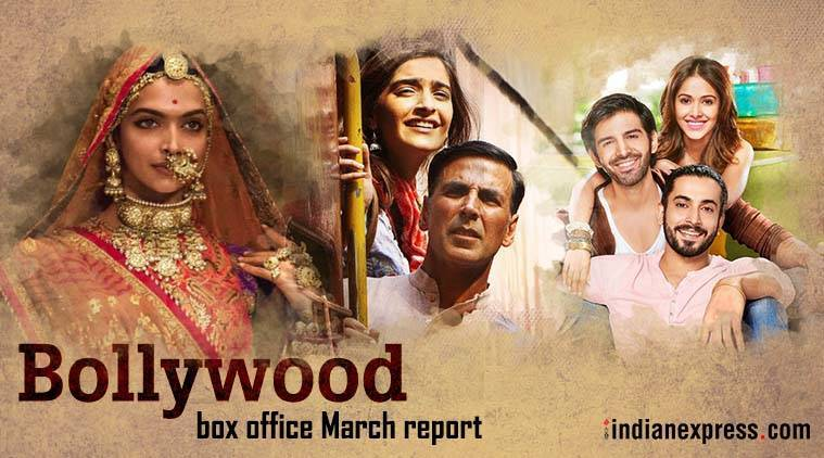 Bollywood box office in february padmaavat and padman - Bollywood box office collection this week ...
