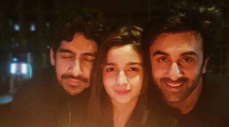 Alia Bhatt, Ranbir Kapoor and Ayan Mukerji pose after wrapping 'Brahmastra' schedule