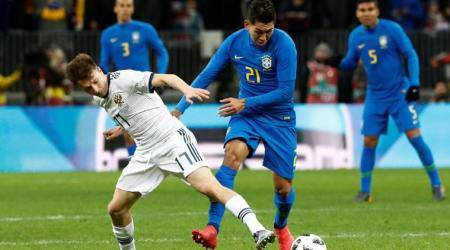 Brazil beat Russia 3-0 in friendly ahead of World Cup