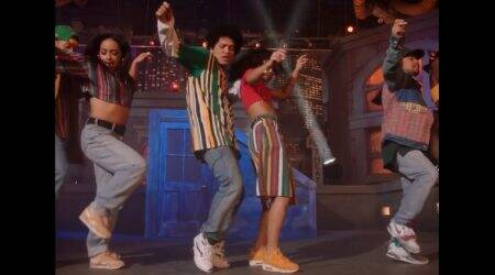 VIDEO: Bruno Mars' dance will make you play Govinda and Raveena Tandon's hit song in a loop