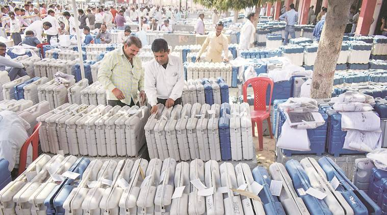 gorakhpur bypoll result, uttar pradesh, media kept out of counting, samajwadi party, sp bsp win, bjp, yogi adityanath, up bye election result, media banned from goraphpur counting, indian express