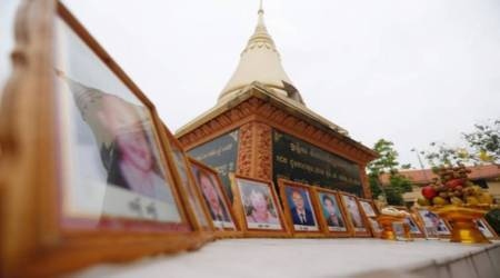 Cambodian opposition mark the 1997 attack anniversary with rare publicdisplay