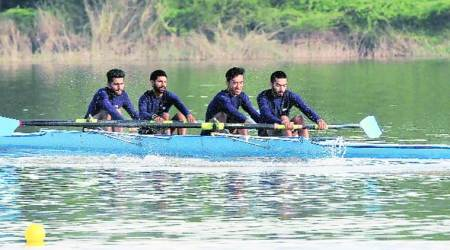 Panjab University rowers claim overall inter-university trophy
