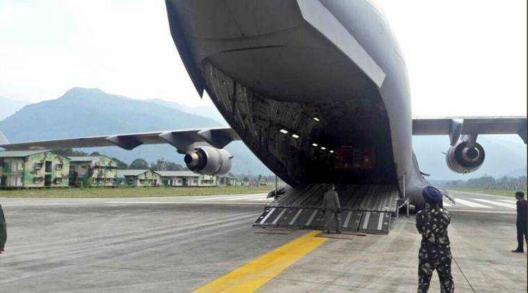 IAF lands its largest transport aircraft in Arunachal Pradesh's tuting