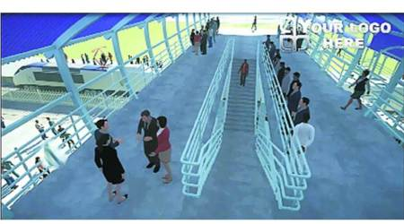 Decongesting FOBs: 'Bifurcated staircases' at sixstations
