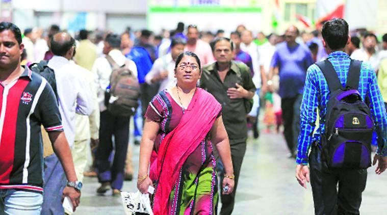 Thane: 49 year old woman who brings order to 'crush hour' travel every day