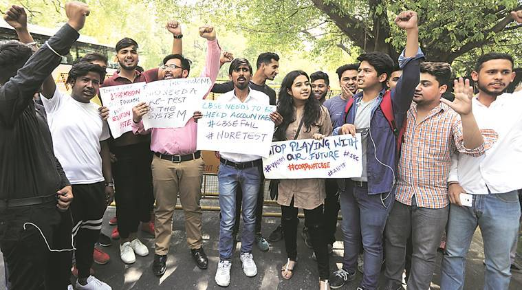 'Night before, mail to CBSE sought exam cancellation'
