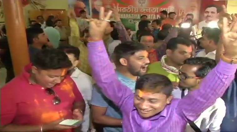 Tripura assembly elections 2018: BJP headed for a historic win with tribal votes, celebrations begin