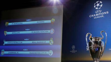 Real Madrid face Juventus in UEFA Champions League quarterfinals