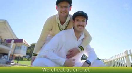 Australians laugh at themselves in 'We cheat at cricket' video as Kevin Pietersen joins in