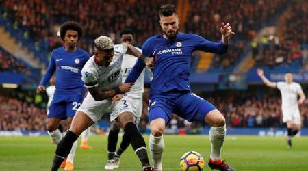 Olivier Giroud encouraged by fluid link-up play with Chelseamidfielders