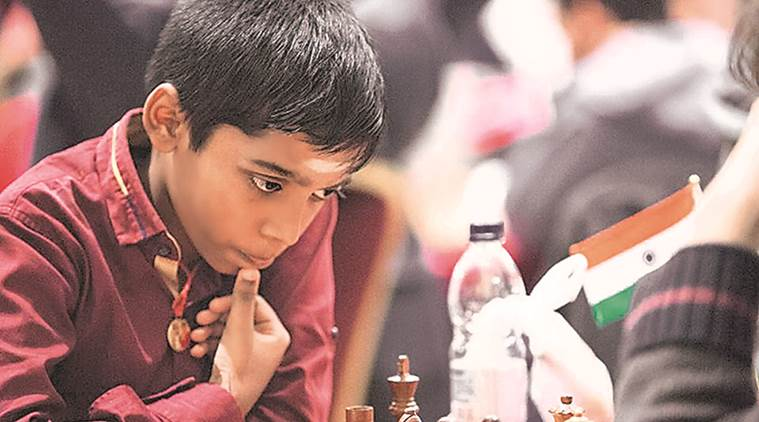 R Praggnanandhaa, R Praggnanandhaa news, R Praggnanandhaa updates, R Praggnanandhaa tournament, R Praggnanandhaa matches, sports news, chess, Indian Express