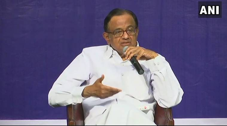 Govt is in denial, people should ask 'hard questions': P Chidambaram