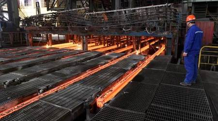 chinese steel imports, anti-dumping duty, Directorate General of Trade Remedies, domestic steel production, cost of domestic steel production, economy news, business news, indian express