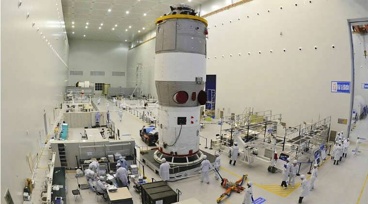 Falling Chinese space station's re-entry expected on Easter Sunday