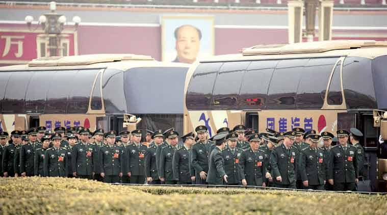 China to increase 2018 defense budget by 8.1pc