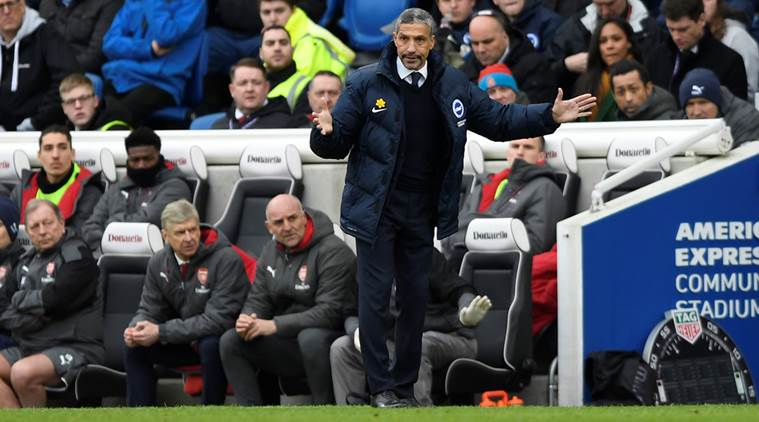 Chris Hughton to field strongest Brighton team against Manchester United in FACup