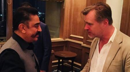 Christopher Nolan kicks off India trip; meets Kamal Hassan in Mumbai