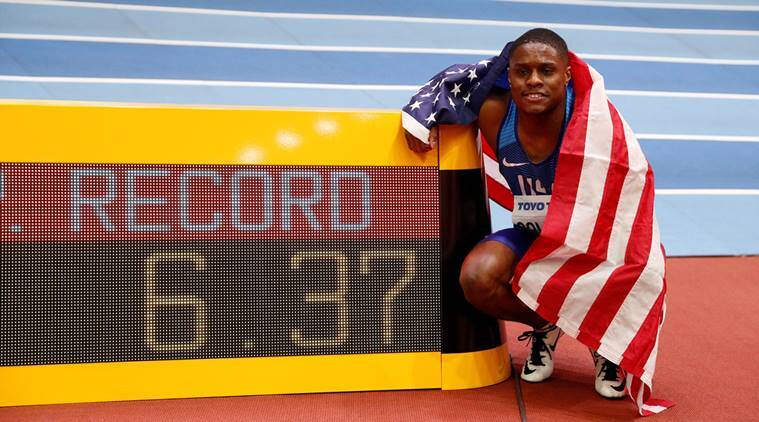 Sprinting supremacy from Christian Coleman at World Indoors