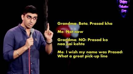 Video: You will SO relate to this comedian talking about Indian superstitions