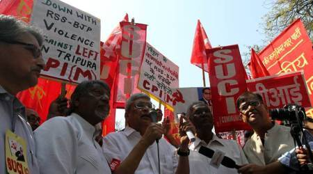 Destruction of Lenin and Periyar statues shows intolerant approach of BJP: CPI(M) leader Prakash Karat
