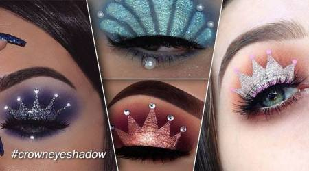 Crown Eyeshadow: Let your eyes reflect your mood with this HOT Instagramtrend