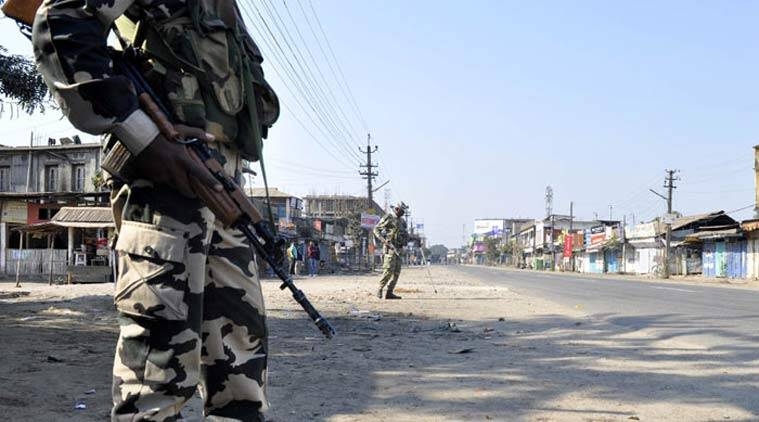 CPRF commandant transferred to Nagaland
