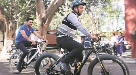 Chandigarh: Only 35 bicycles parked on Municipal Corporation premises