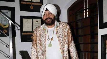 File photo of Punjabi pop singer Daler Mehndi.
