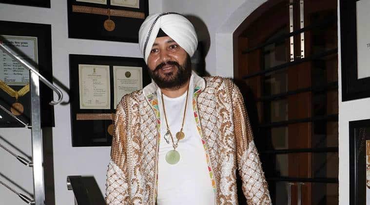 File photo of Punjabi pop singer Daler Mehndi.