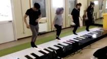 WATCH: This group dancing on a giant piano floor to Despacito will blow your mind