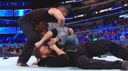WWE Smackdown Live results: Sami Zayn, Kevin Owens assault Daniel Bryan after being fired