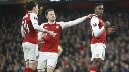 Europa League: Danny Welbeck double lifts Arsenal, Fernando Torres boosts Atletico Madrid