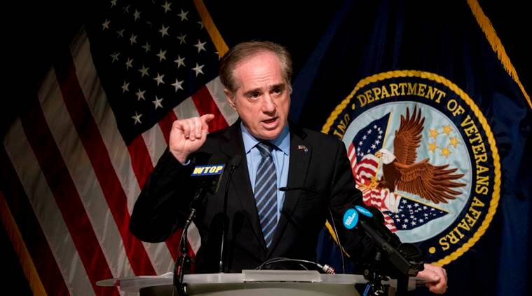 Trump ousts David Shulkin from Veterans Affairs
