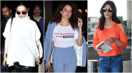 Deepika Padukone, Kangana Ranaut, Kriti Sanon: Best airport looks of the week (Feb 24 – Mar 3)