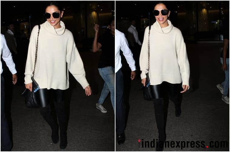 airport fashion, airport style, deepika padukone, disha patani, yami gautam, rani mukerji, Bipasha basu, daisy shah, kajal agarwal, celeb fashion, bollywood fashion, bollywood airport style, indian express, indian express news