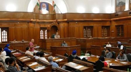 delhi assembly budget session, Manish Sisodia, delhi assembly session extended, Speaker Ram Niwas Goel, budget session extended for two days, delhi government
