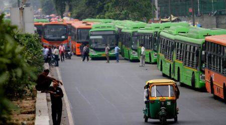 7,000 buses booked for flouting pollution norms in Delhi
