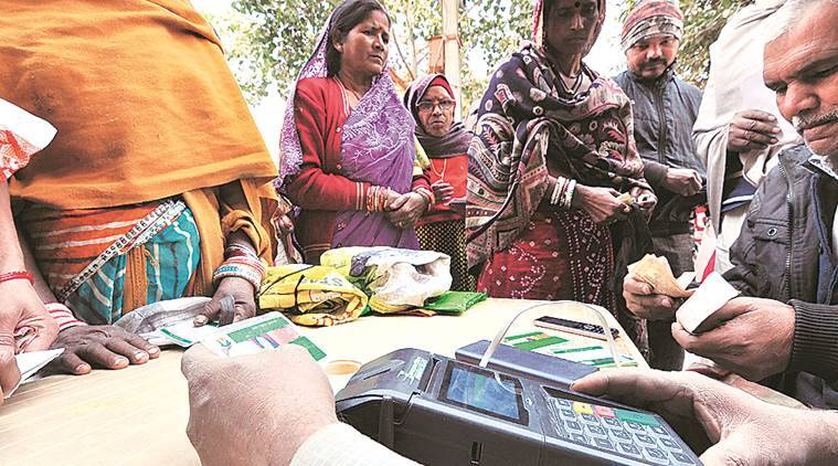After month's delay, ration shops get iris machines