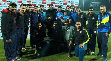 Batsmen on fire as India B win Deodhar Trophy 2018